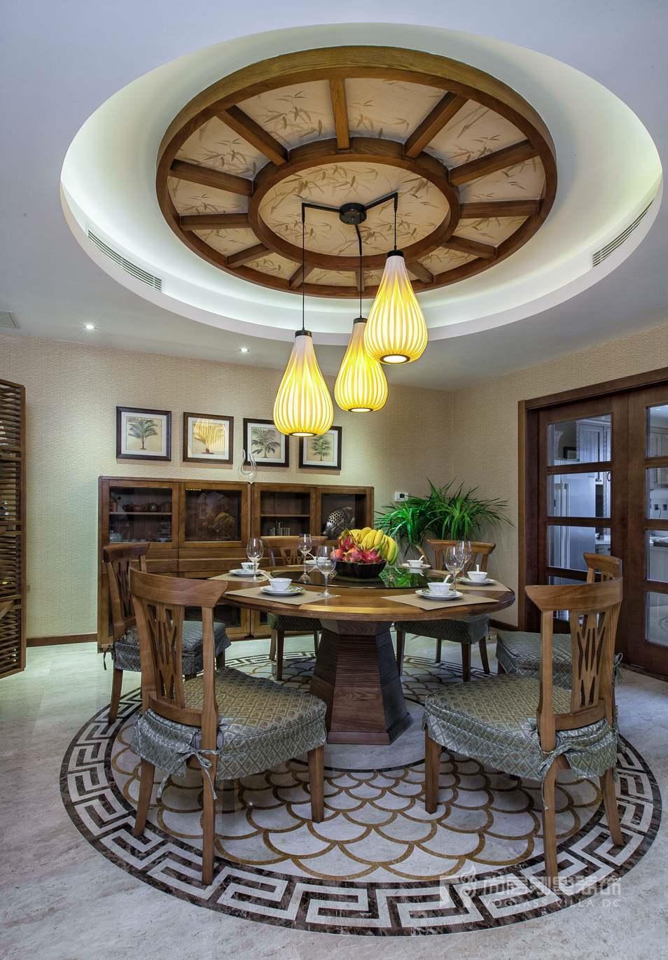 东南亚风格餐厅实景图