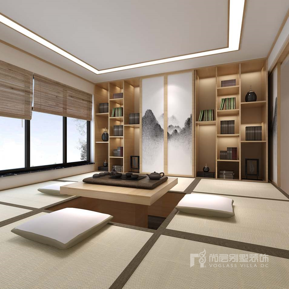 日式风格和室效果图