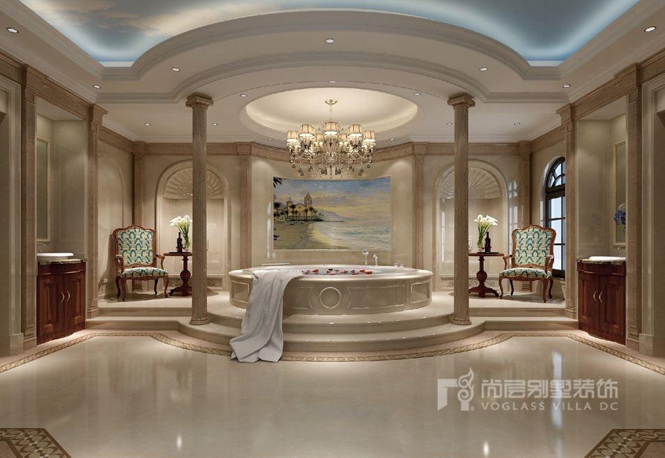 欧式风格别墅装修spa间效果图