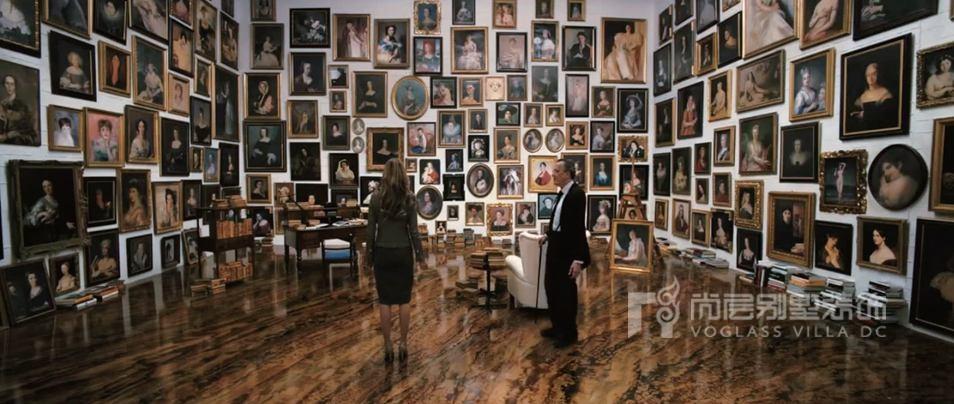 尚层装饰设计师解读电影,图为奥德曼先生的密室