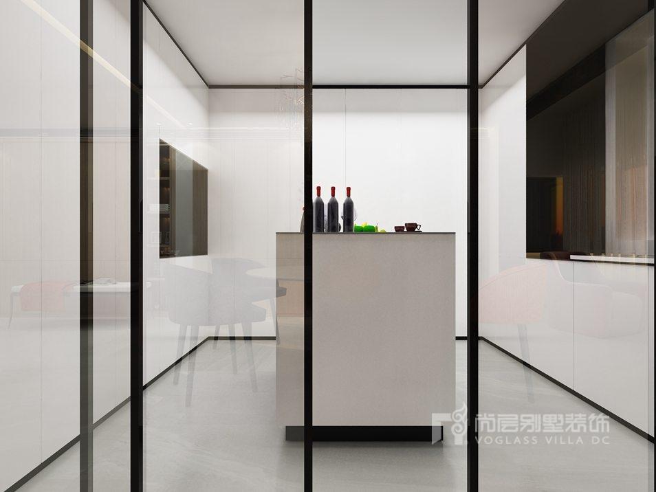400平米别墅装修厨房效果图