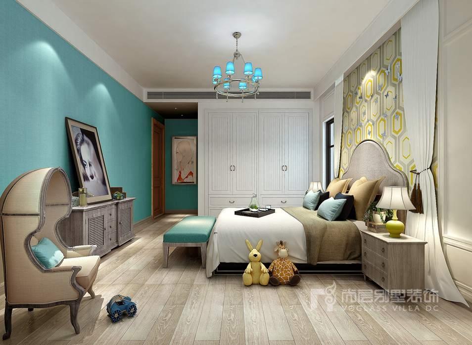 别墅装修方案-儿童房效果图