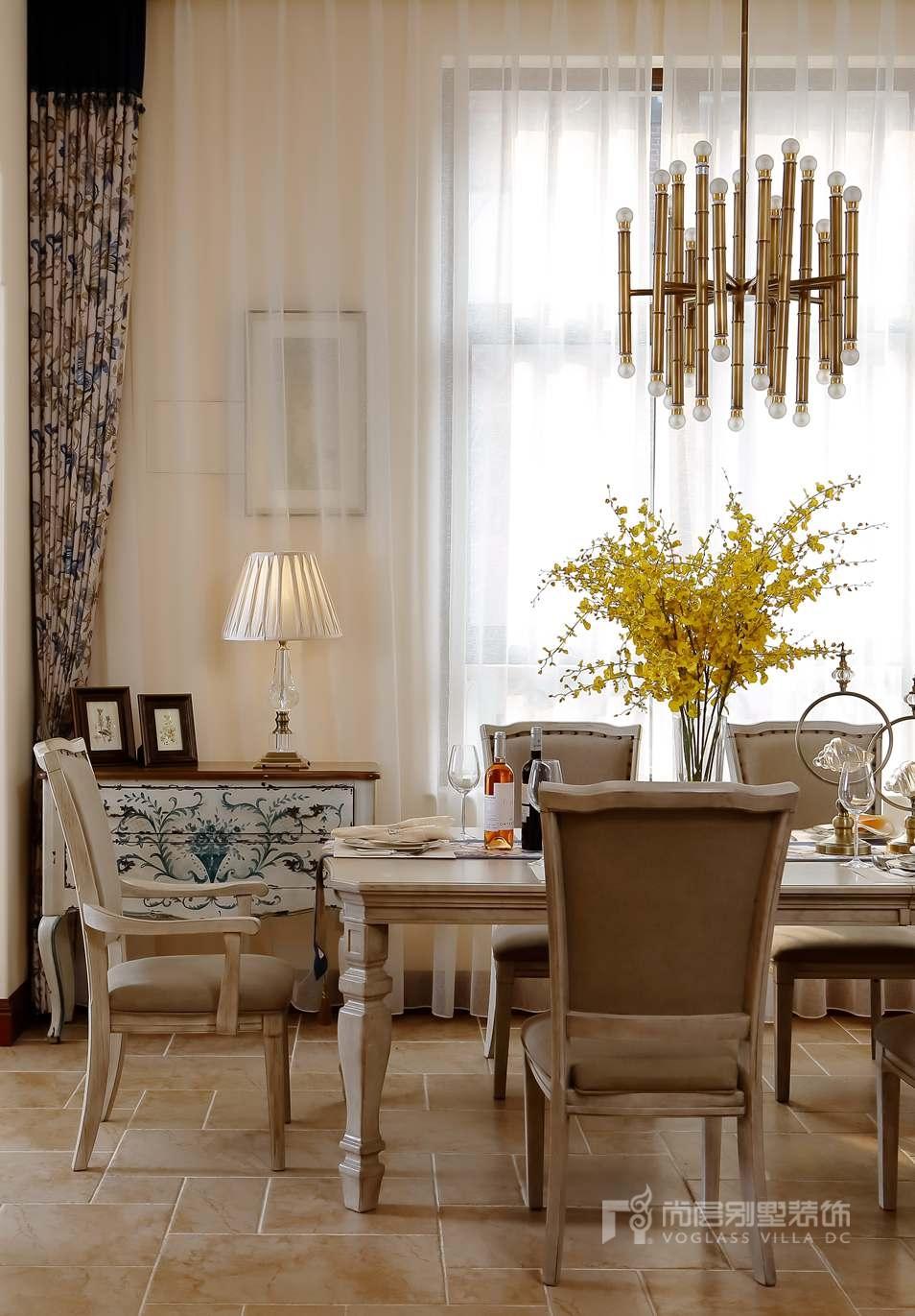 尚层室内软装配饰-餐厅实景图