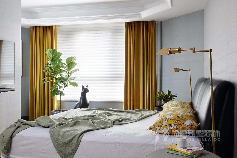 尚层室内软装配饰-卧室实景图