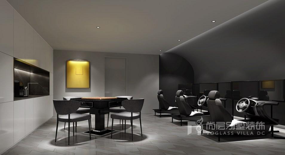 威尼斯花园别墅当代简约模拟室装修效果图