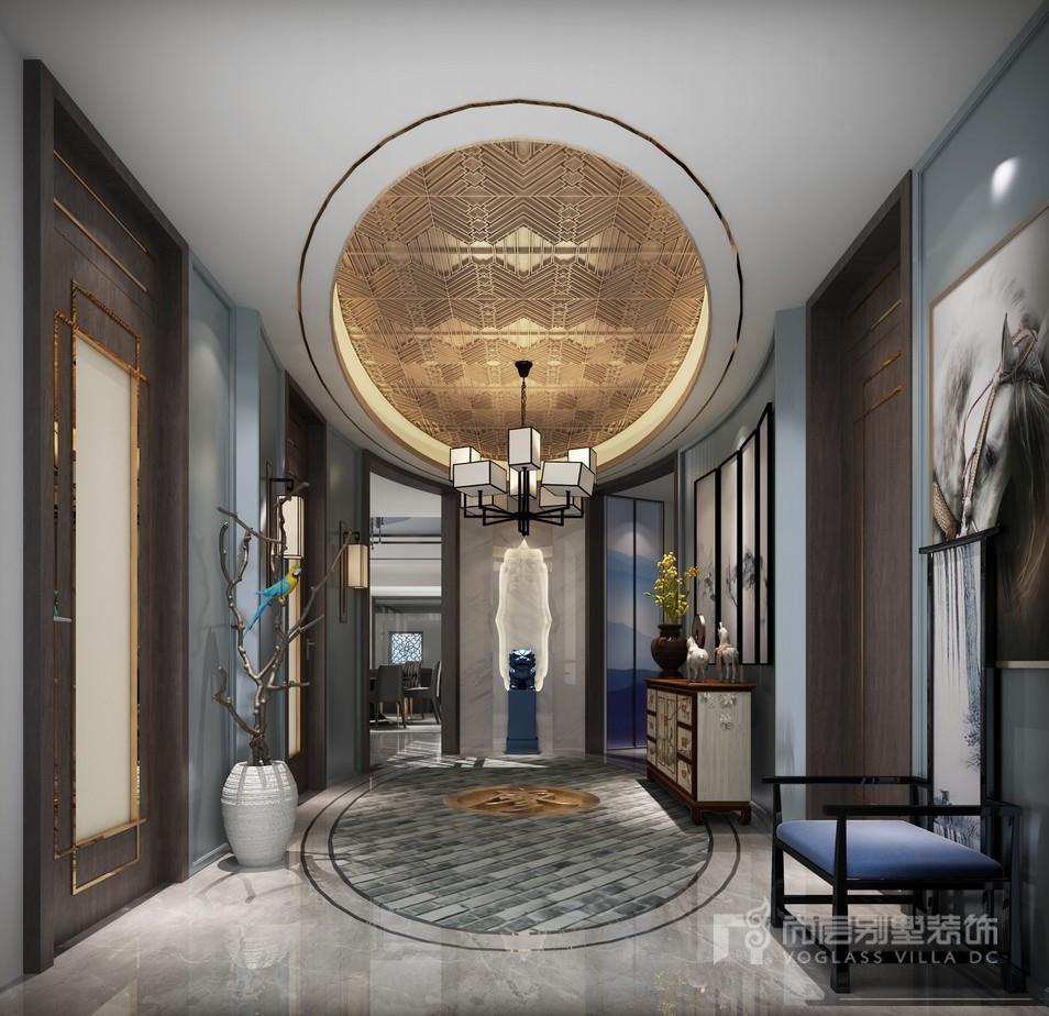 杭州软装家居设计公司的设计师通过最普通的材料,比如石材,墙布,金属