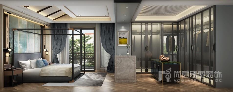 客厅的软装设计中,将现代元素与传统元素结合在一起,打造和传统意义