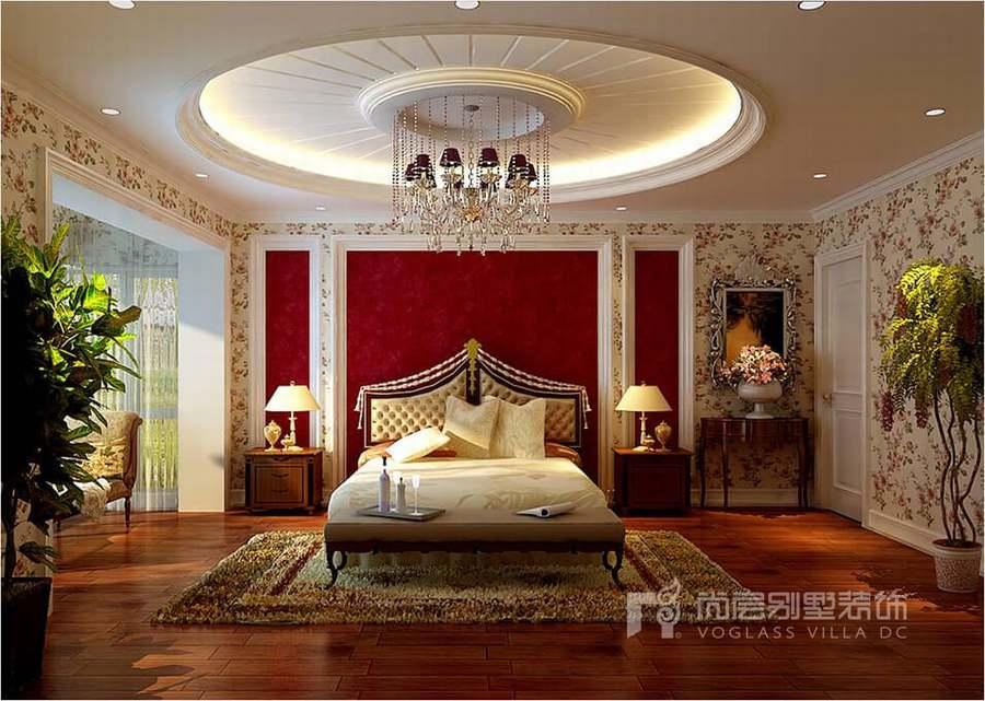 437平米欧式风格别墅装修设计案例