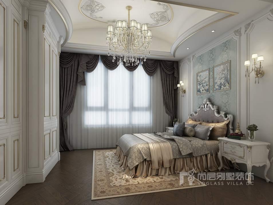 【杭州软装家居设计】轻奢华法式风格,用精华演绎经典图片