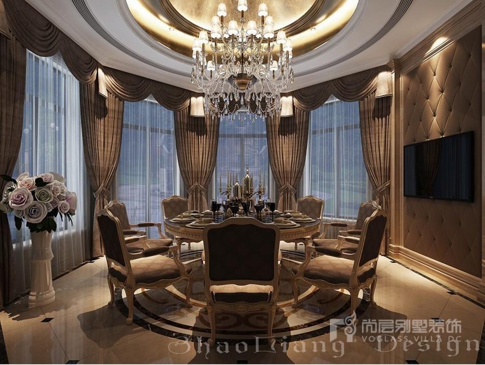 会客厅              古典欧式风格别墅装修最大的特点就是在造型上