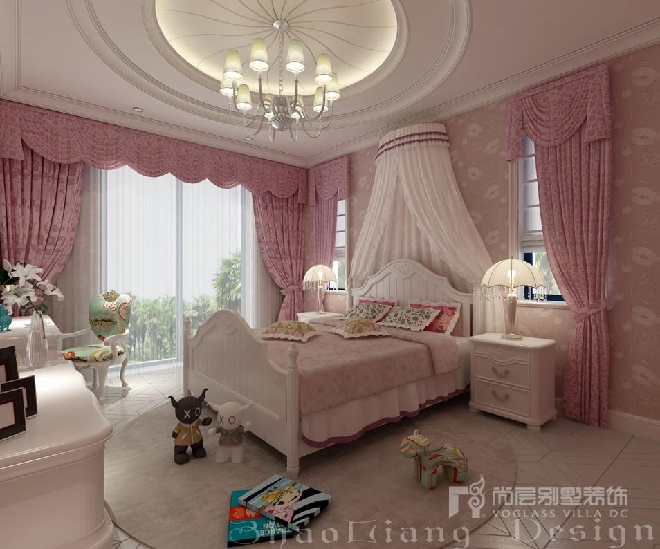 别墅装修女儿房设计效果图