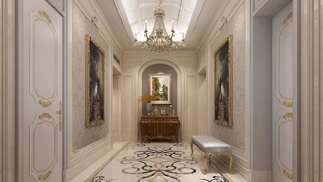 法式风格别墅装修