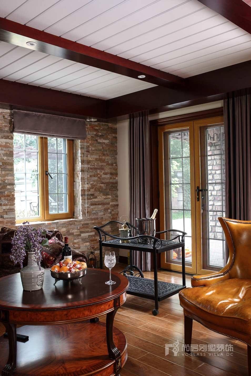 美式别墅装修风格样板房