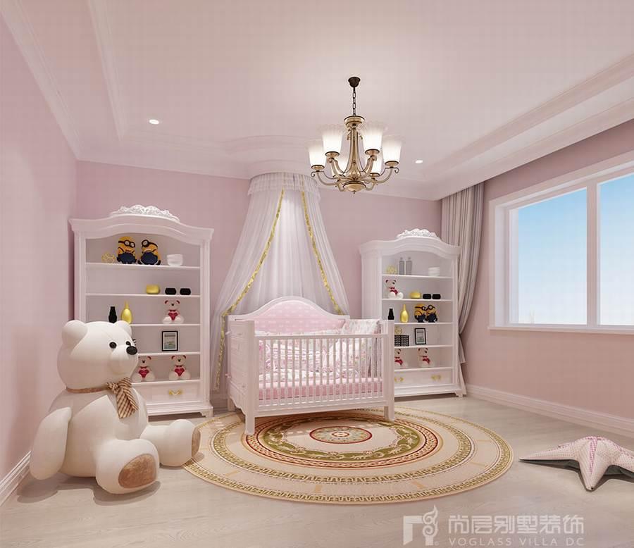 420平米现代美式风格别墅装修设计案例