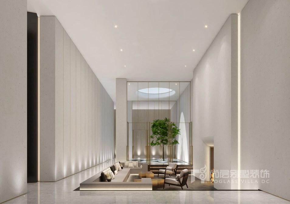 而新中式别墅装修风格的卧室一般选用安静,悦目,舒适,沉稳的格调来