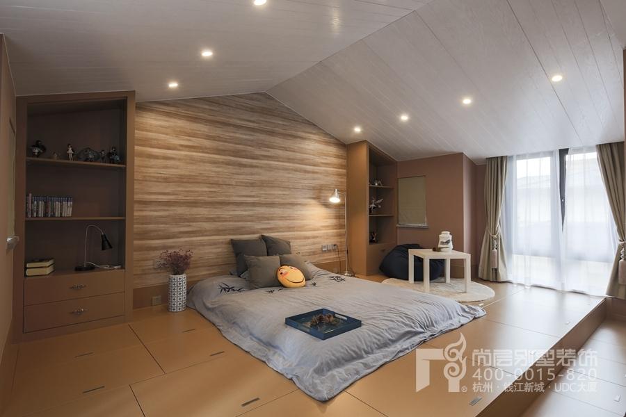 500平方新中式装修实景图
