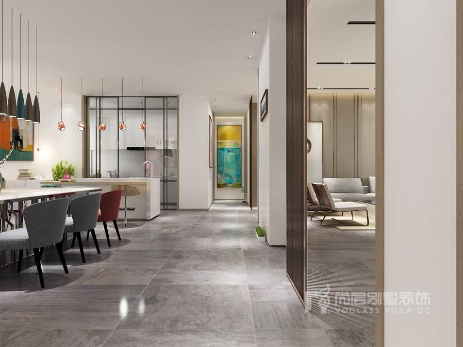 碧桂园现代风格走廊别墅装修效果图