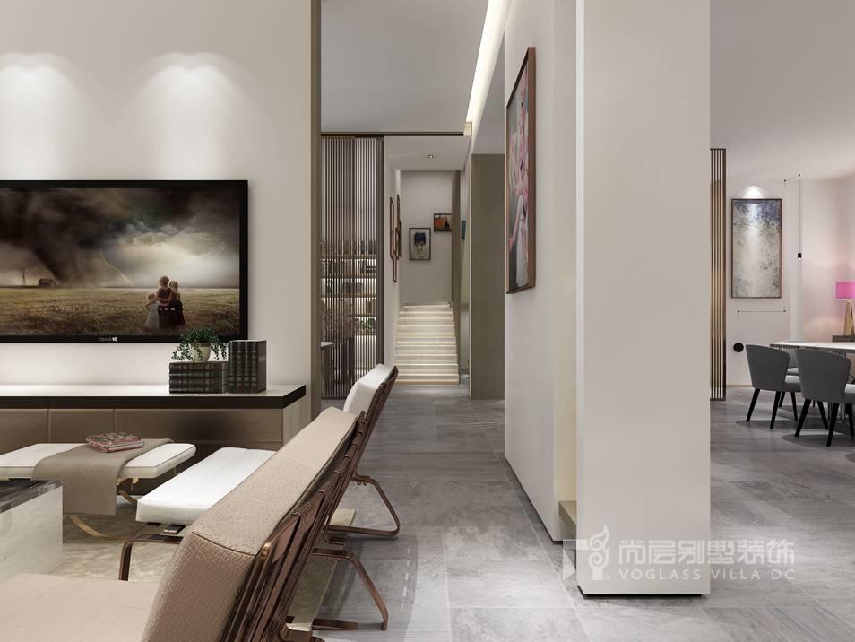 碧桂园现代风格客厅别墅装修效果图