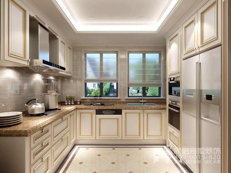 厨房装修别墅效果图