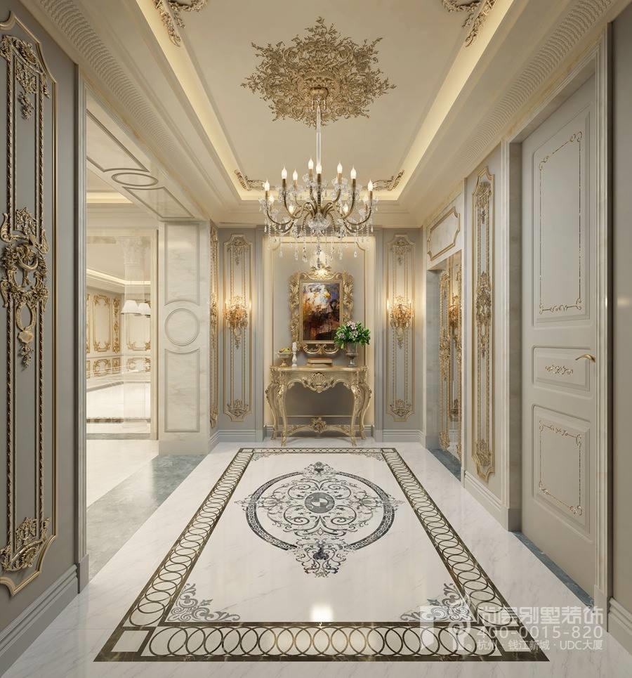 门厅装修别墅法式风格效果图图片