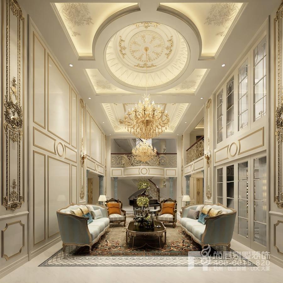 家庭室装修别墅法式风格效果图