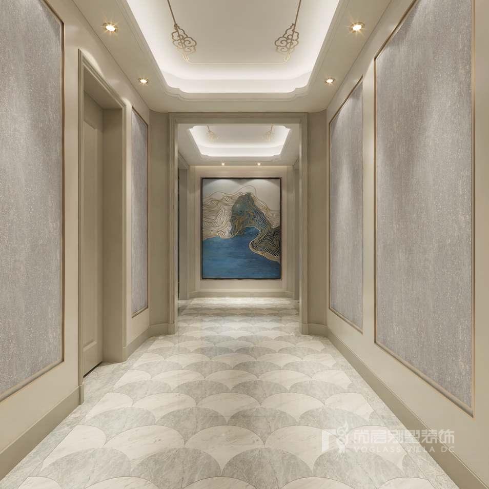 泛海国际混搭风格门厅别墅装修效果图