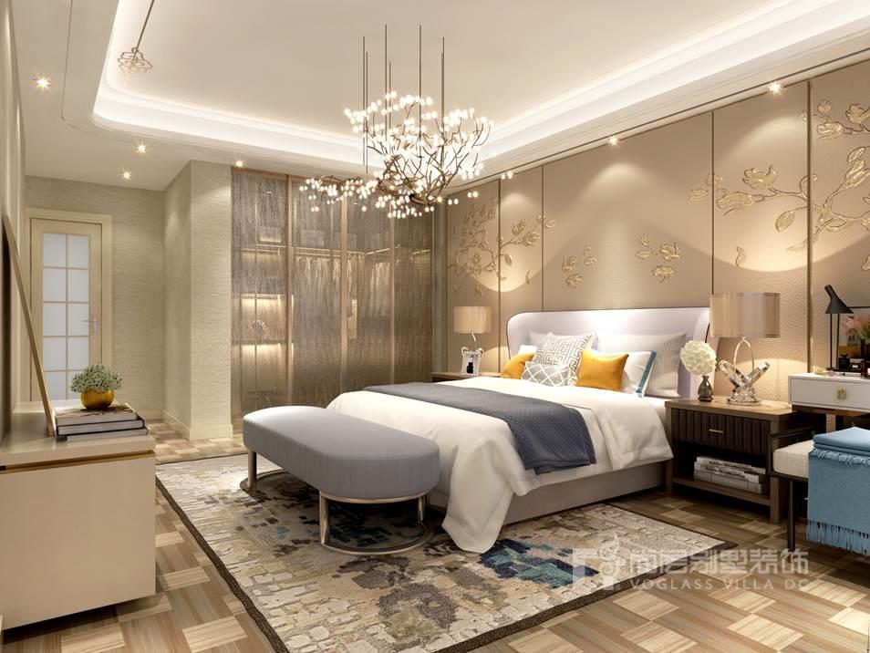 泛海国际混搭风格卧室别墅装修效果图