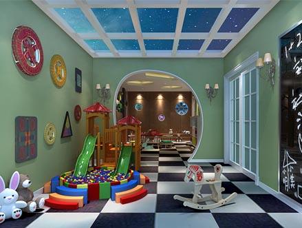 尚层设计-儿童房别墅装修效果图