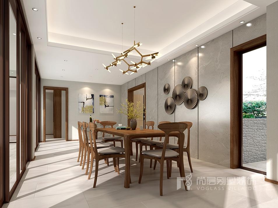 太湖论坛城现代风格餐厅装修效果图