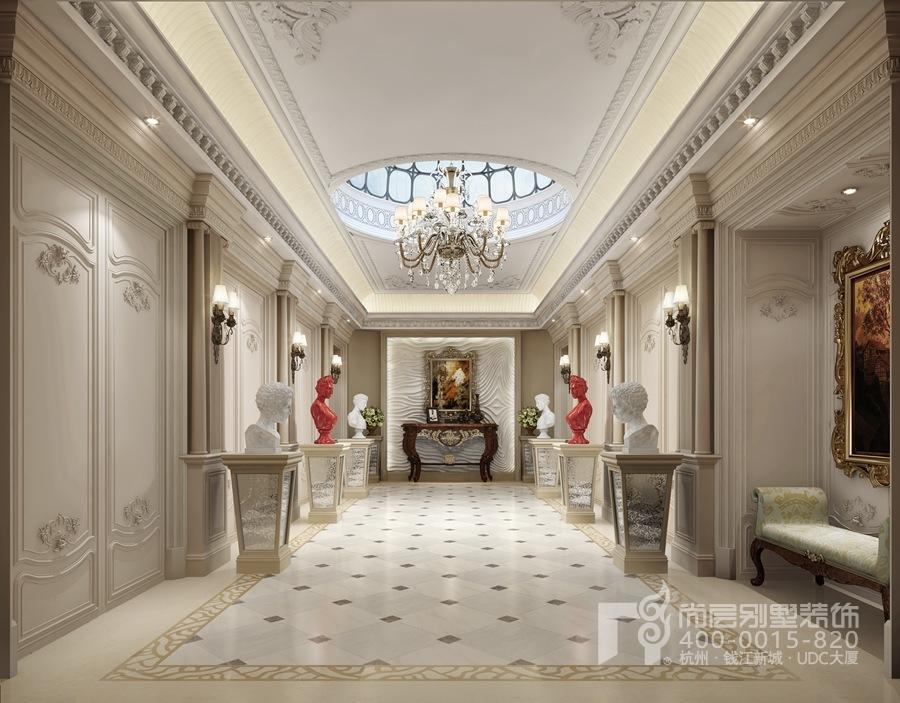 奶块法式三层别墅图片
