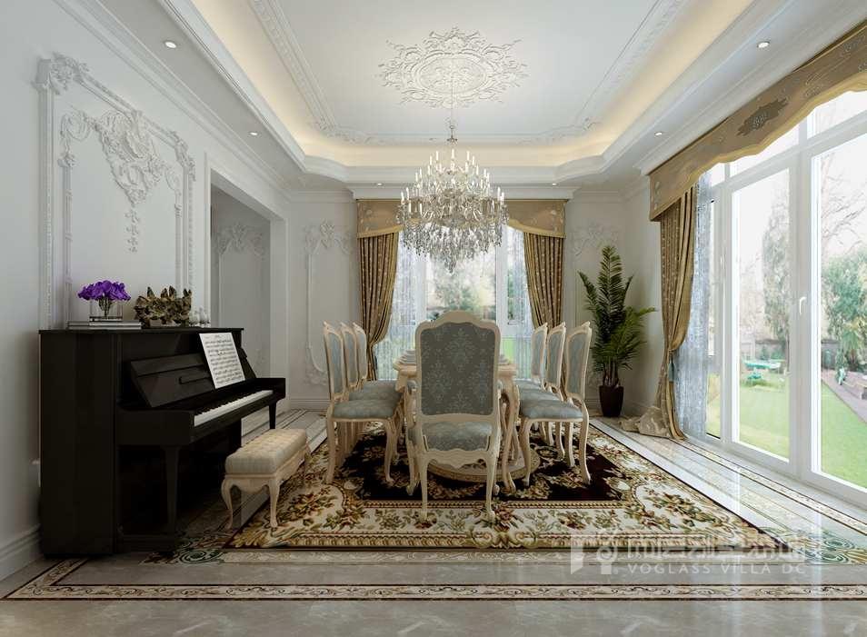 具有细腻质感和轻奢情调的灰褐色,尤适合作为卧室空间的主色调,搭配淡淡肉粉色的小麦色床品,这样中性色与暖色的结合,能够将温馨感演绎到极致。经典蓝靠包的点缀将蓝色高贵的气质带入,勾勒了居室的浪漫美好。 >>>获取更多金地中央世家装修设计方案,欢迎点击别墅装修案例; >>>预约别墅设计师张晓斌,欢迎拨打尚层官方热线:400-650-2118