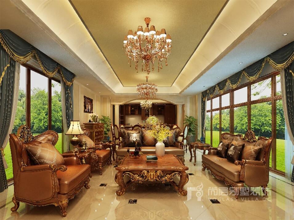长乐渡欧式别墅豪华装修_家居生活的惬意和浪漫