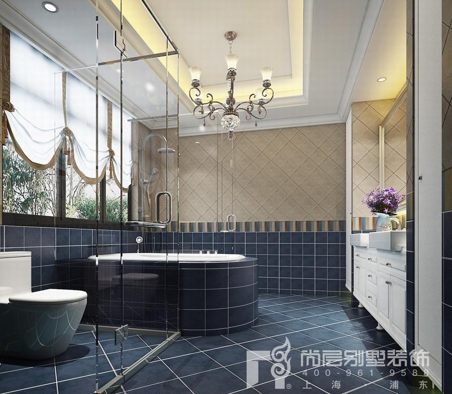 别墅卫生间装修设计效果图
