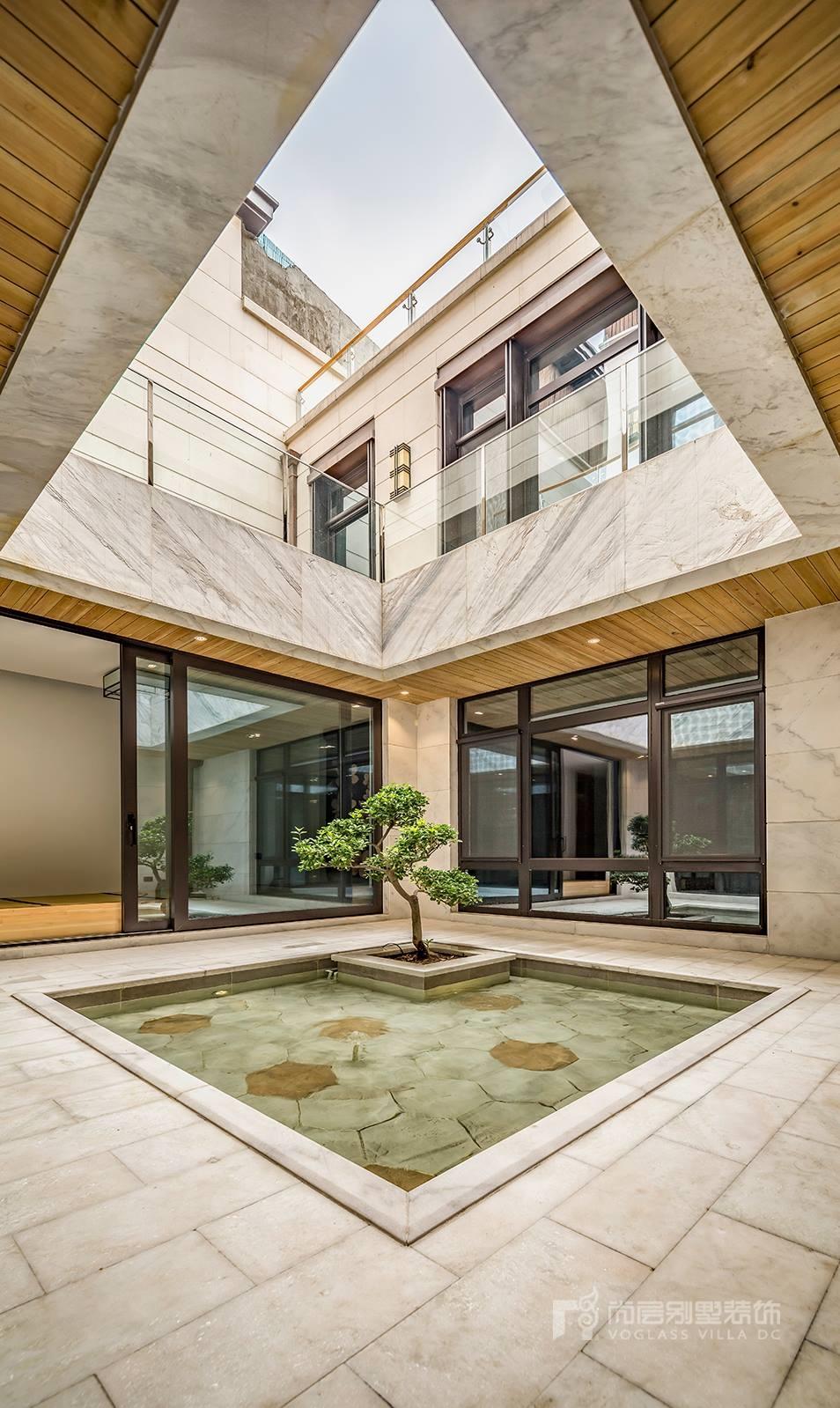 北京院子500平新中式风格实景作品——可以·居图片