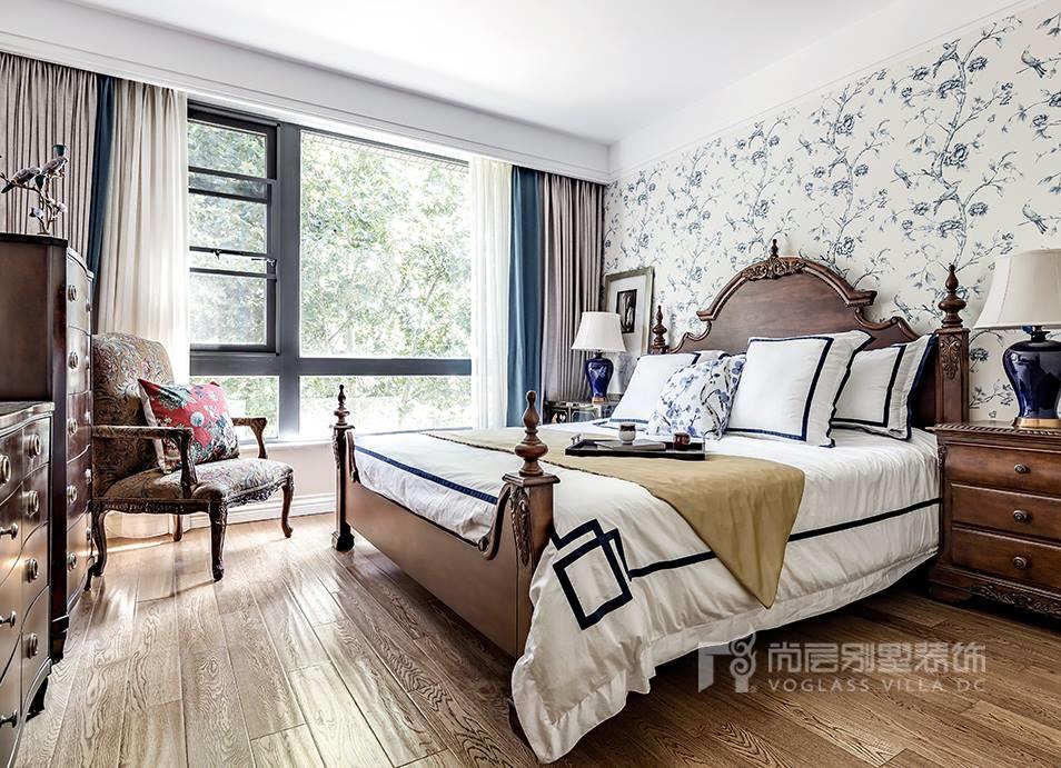 西山庭院别墅装修设计美式风格实景案例——「承·归本」