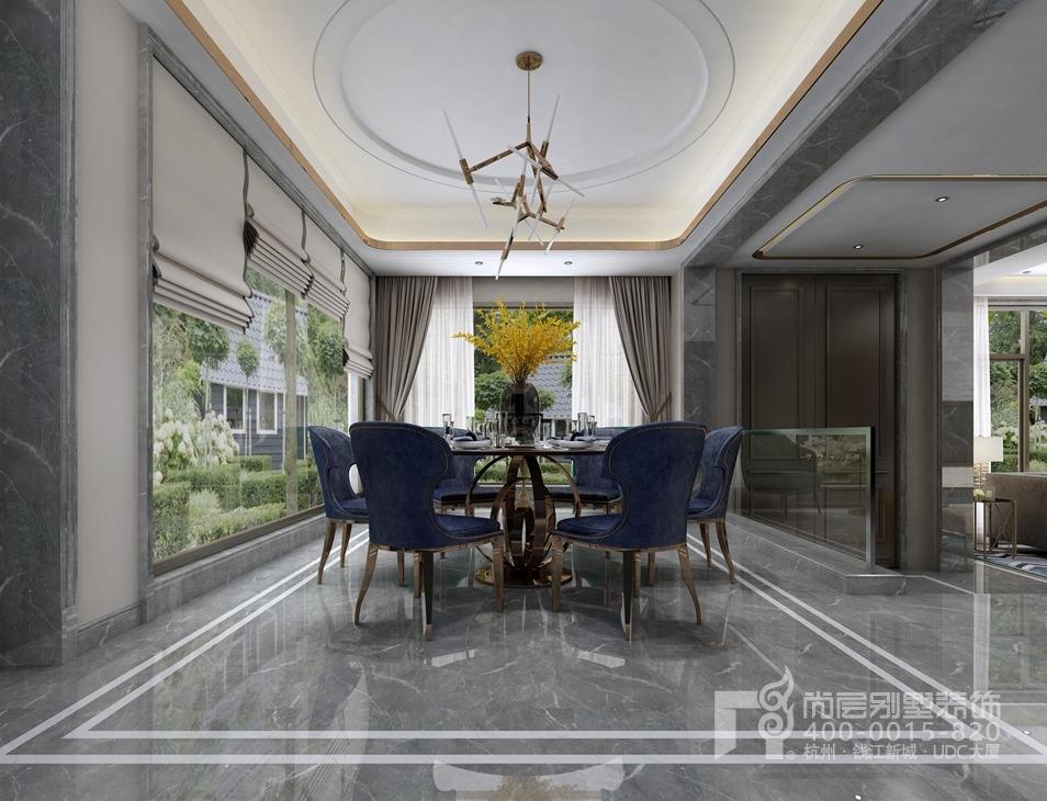 500方別墅港式裝修風格天樂云都設計圖