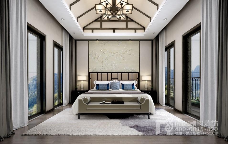 中式风格建筑的韵味,向上的弧度不仅创意十足,更将空间衬托的更加的