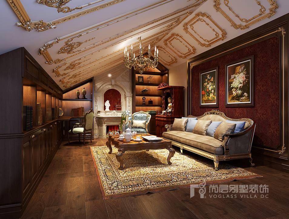 首开琅樾280平欧式风格别墅装修设计——品鉴欧式奢华