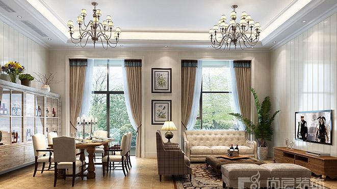东方福邸别墅装饰设计案例-杭州尚层装饰