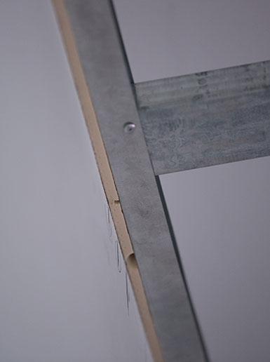 墙体与边龙骨的柔性连续结构专利技术