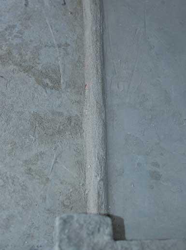 淋浴房地漏处地板砖镶贴施工专利技术
