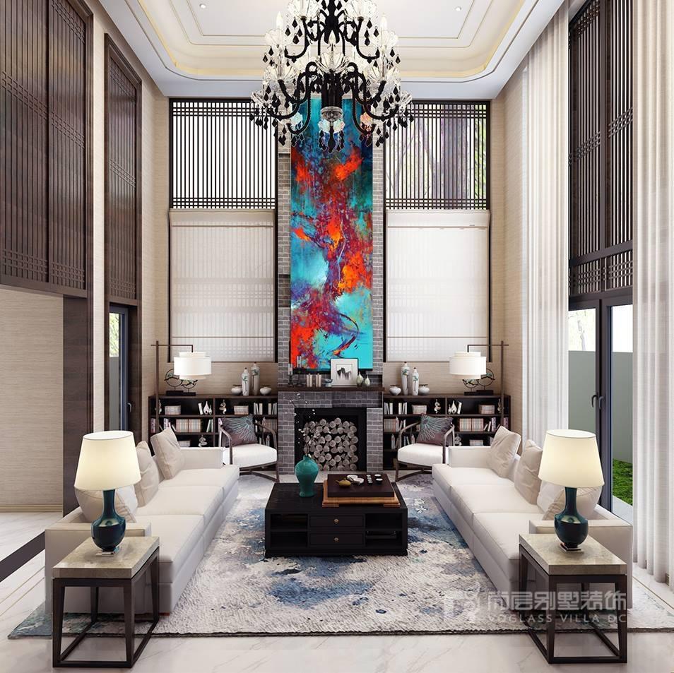 传统中式古典装修风格线条多变,色彩浓重而成熟.