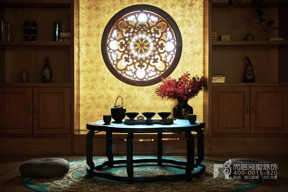 禅室别墅禅意风格装修设计实景图