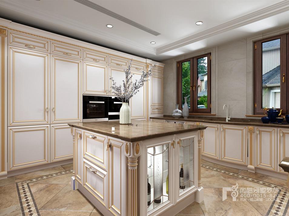 厨房法式风格装修设计效果图
