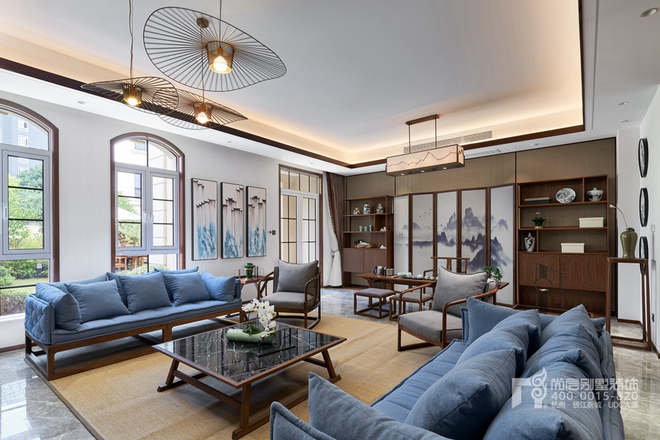 新中式风格别墅装修设计样板房