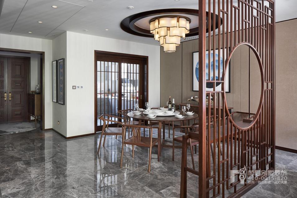 中餐厅新中式风格别墅装修设计样板房