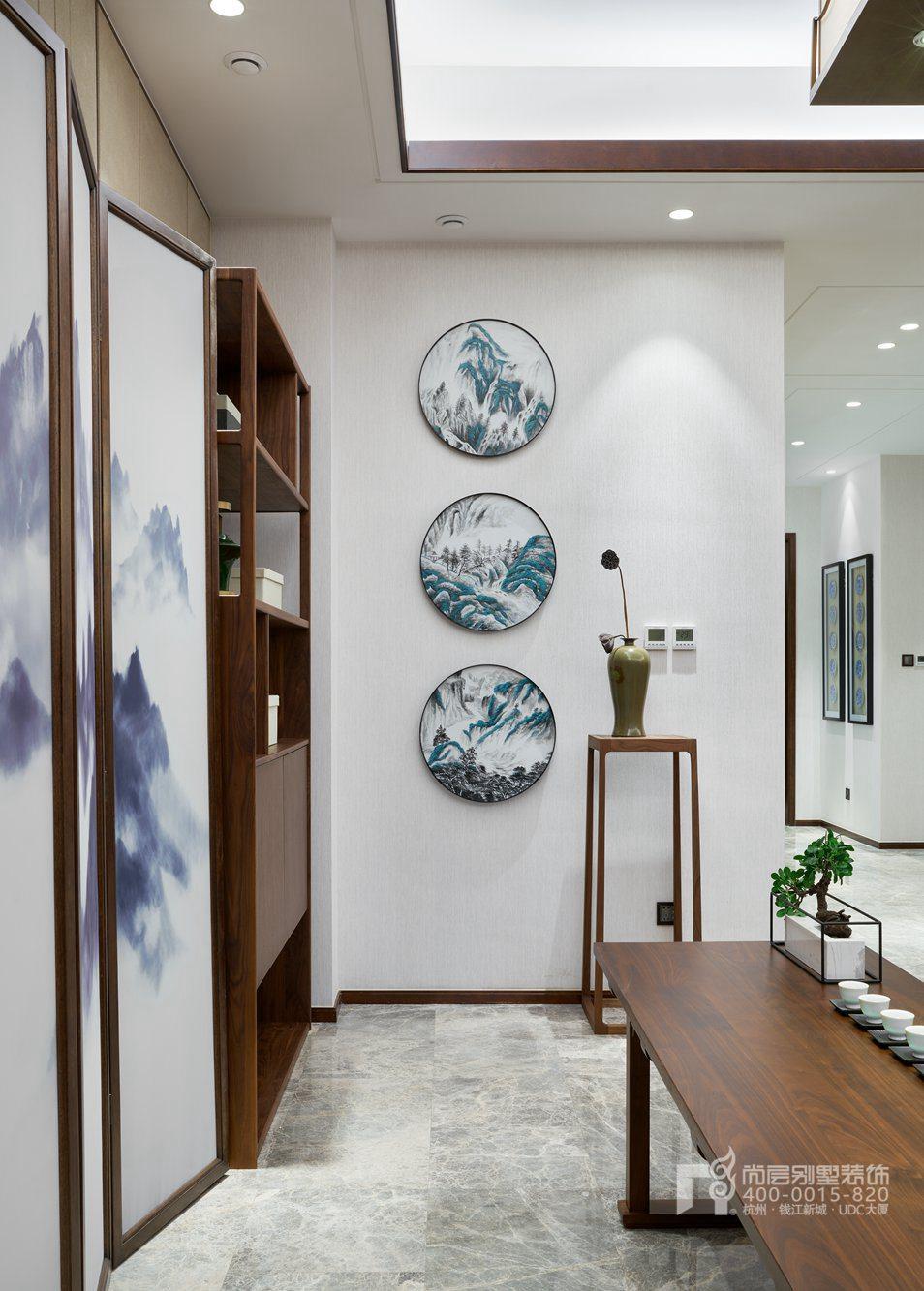 禅室新中式风格别墅装修设计样板房