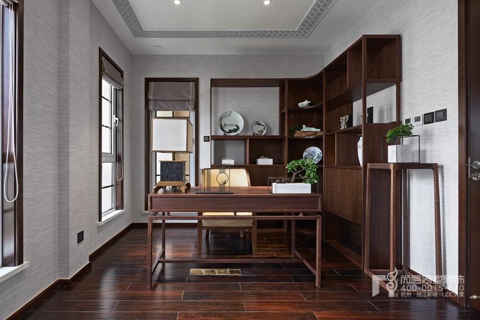 书房新中式风格别墅装修设计样板房
