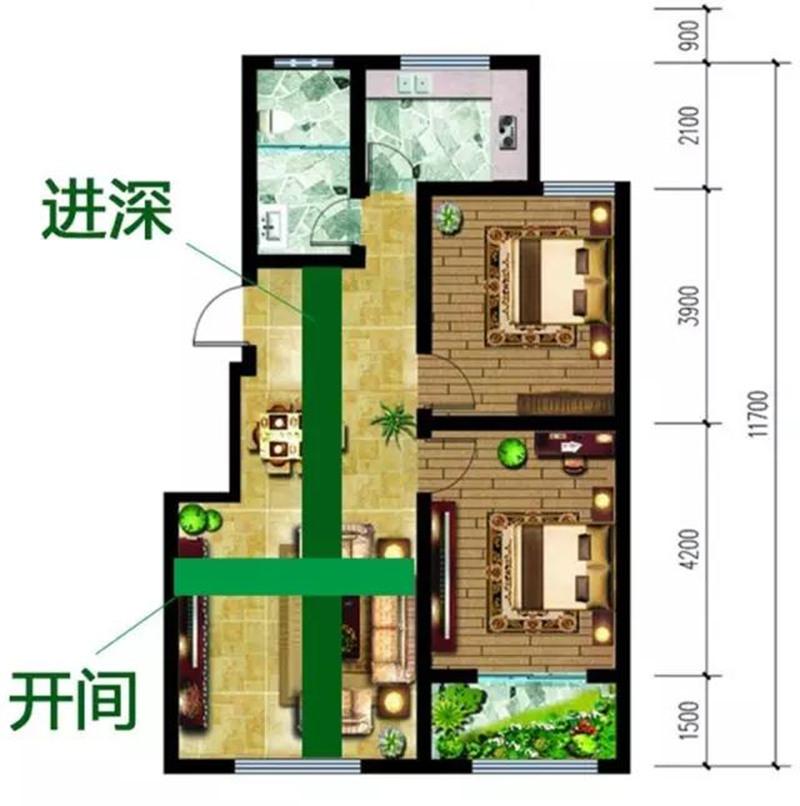 200平米聯排別墅裝修戶型怎么選?原來空間布局這樣才