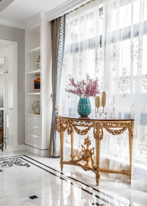 门厅现代法式风格别墅装修实景图